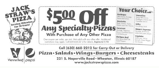 Pizza Salad Sandwich Wings Delivery Coupons Lunch Dinner